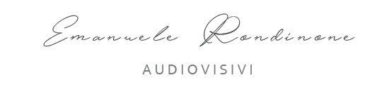 emanuele rondinone audiovisivi LOGO