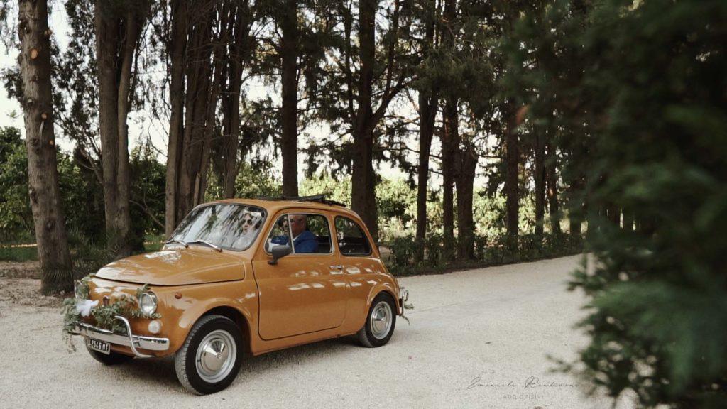 Fiat 500 matrimonio basilicata