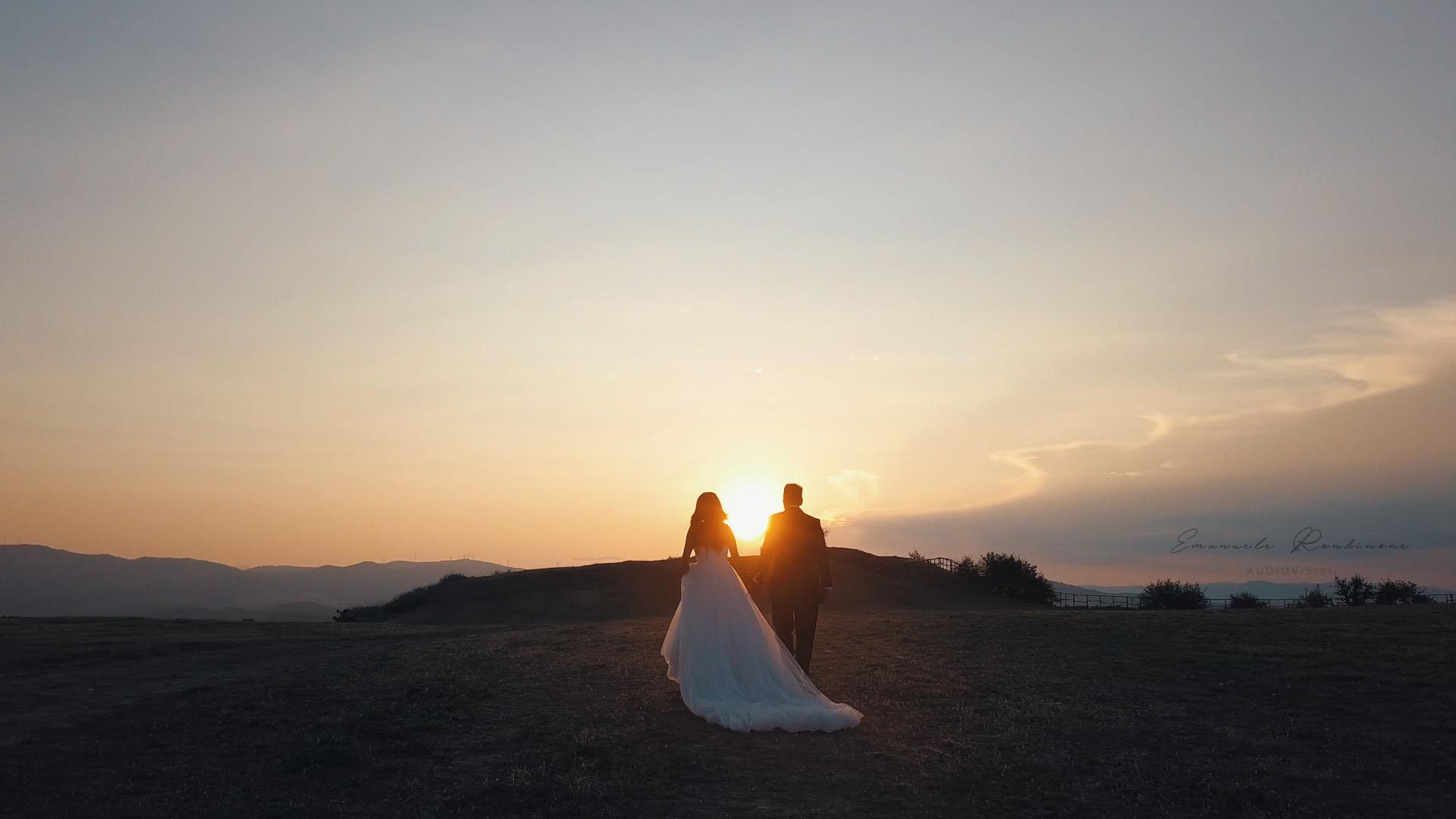 tramonto con sposi basilicata