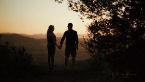 ritratto coppia colori tramonto lucano